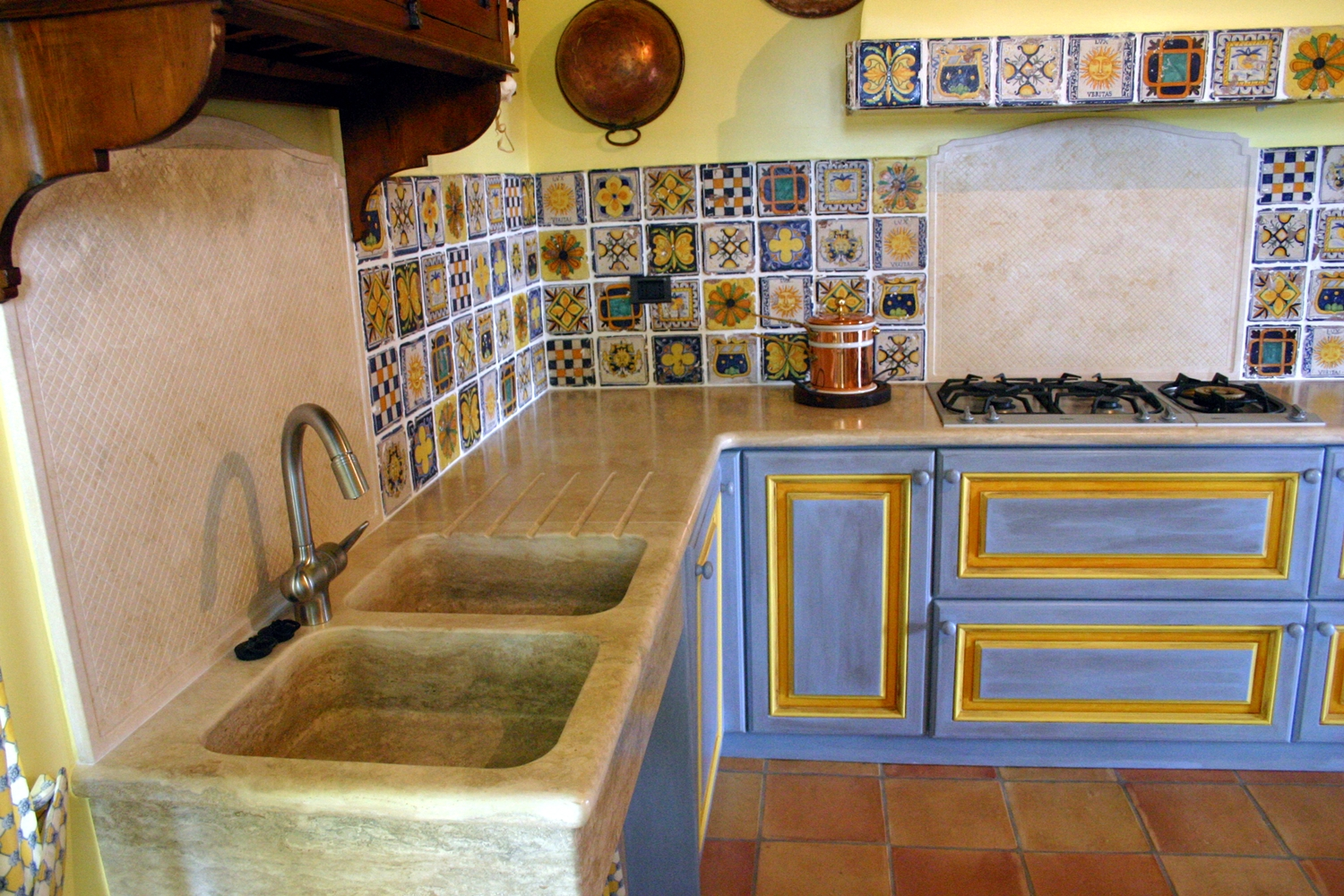 Gallery of top cucina ceramica marmo travertino prezzo al mq con
