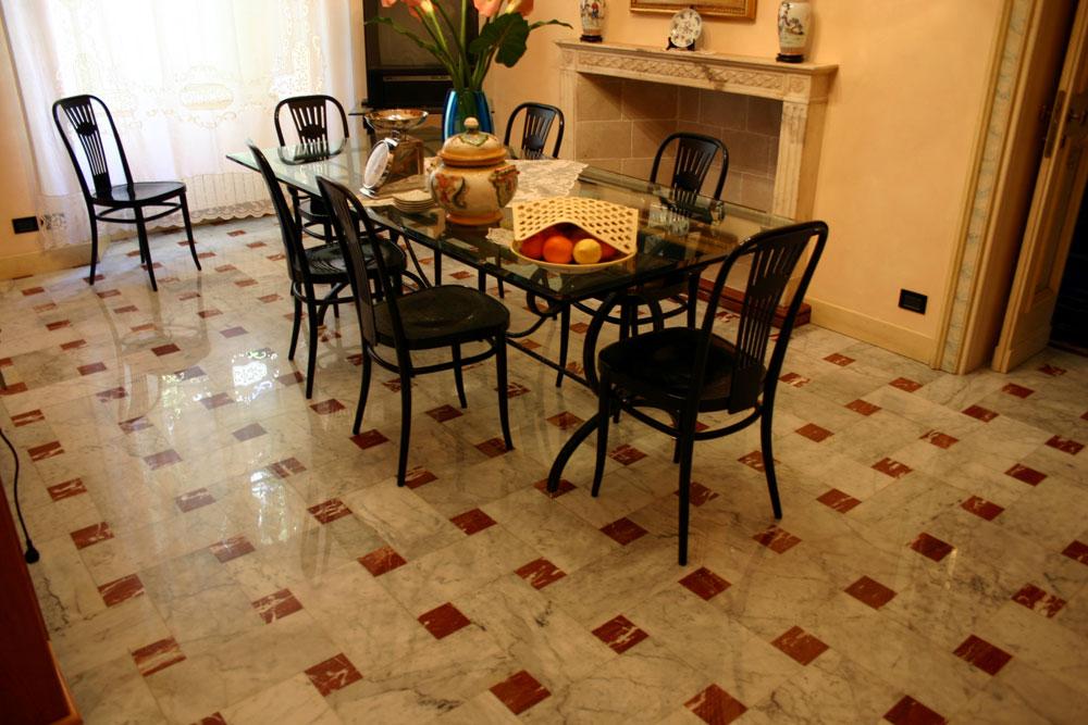Pavimento Rosso E Bianco : Pavimento rosso e bianco forum arredamento u parquet doussiè e