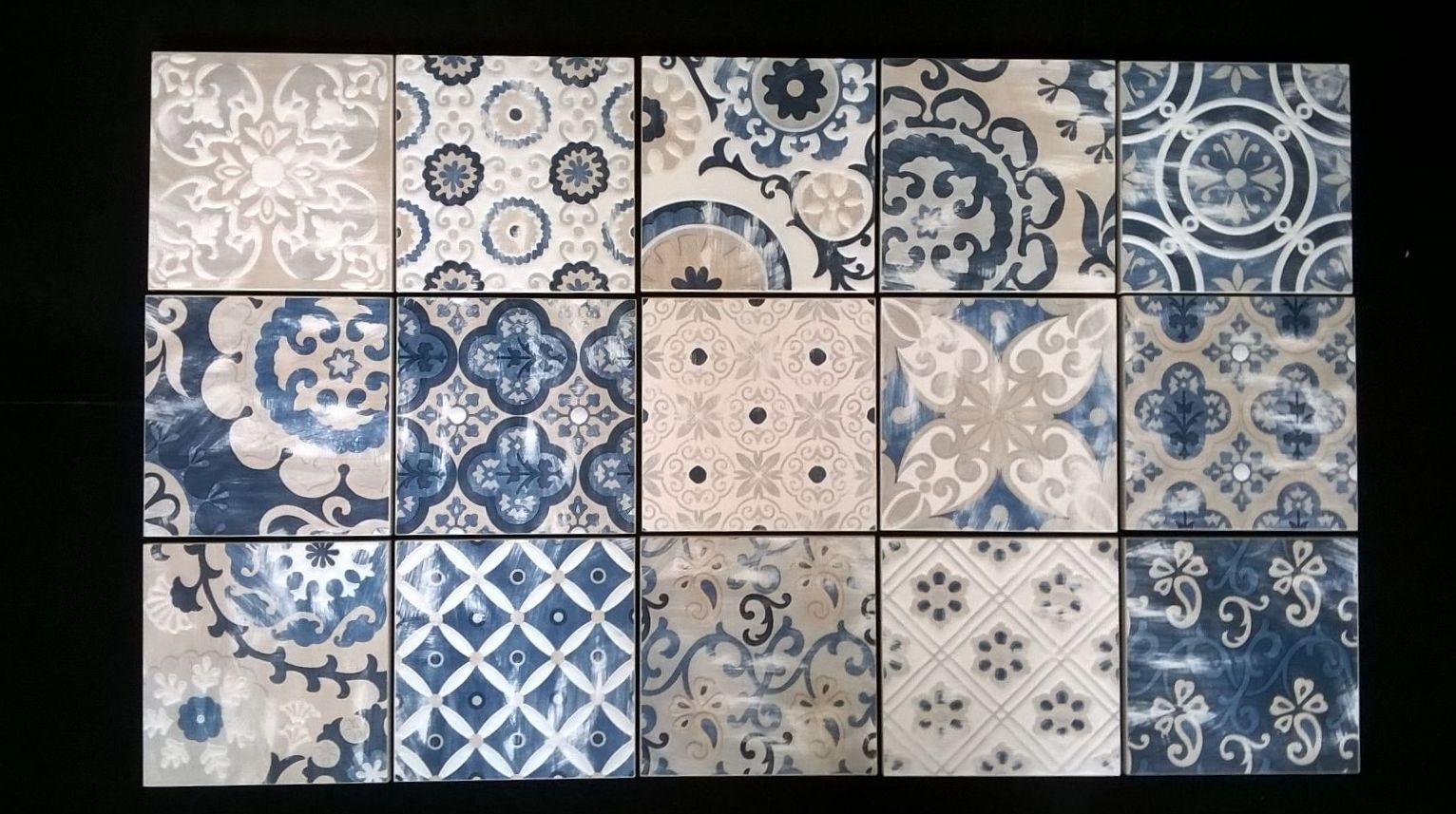 piastrelle ortigia dark blue formato 15 x 15 gres