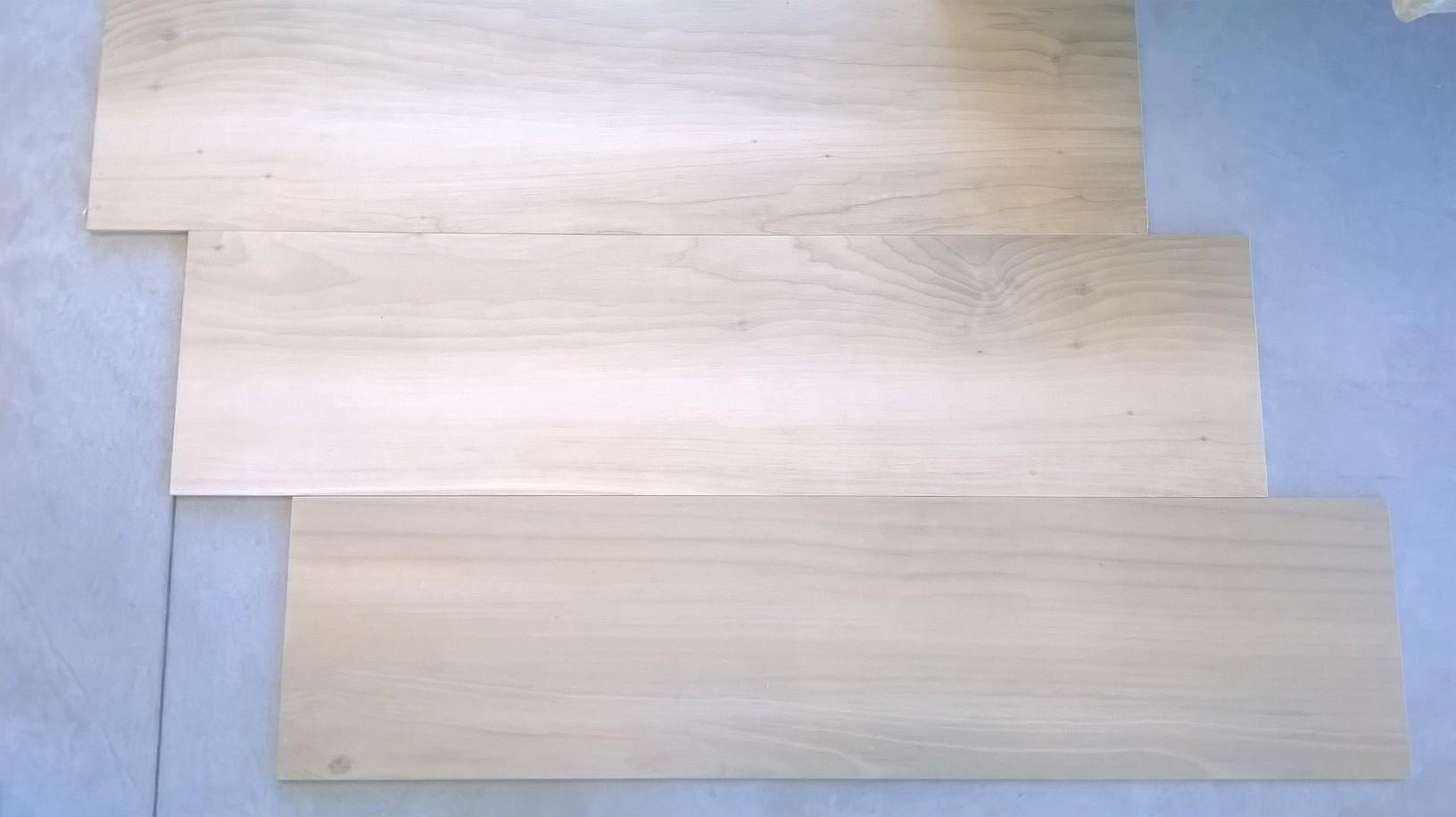 Pavimento in gres porcellanato rettificato 30x120