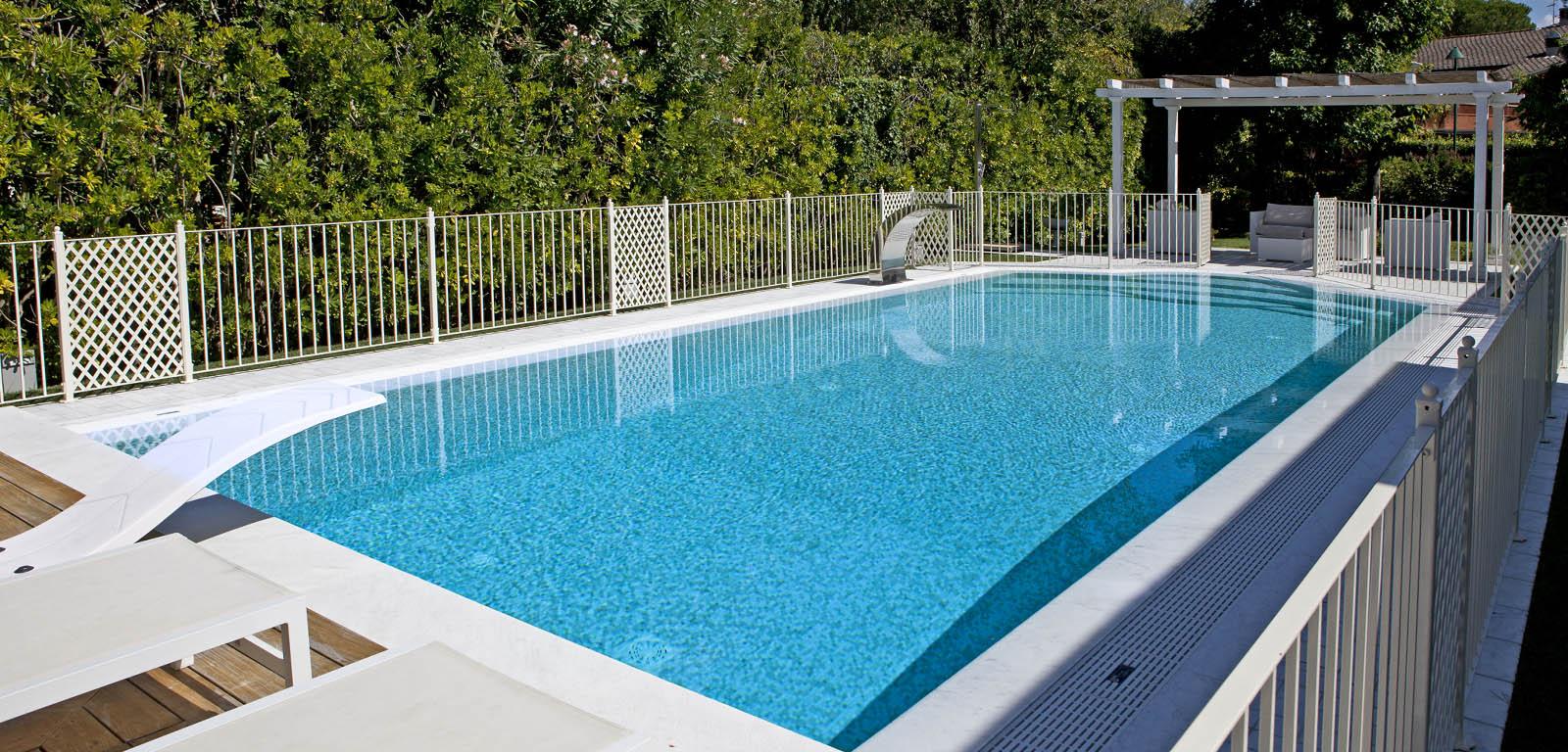 Tecnologie e tipologie lattanzi e silenzi - Bordo perimetrale piscina prezzi ...