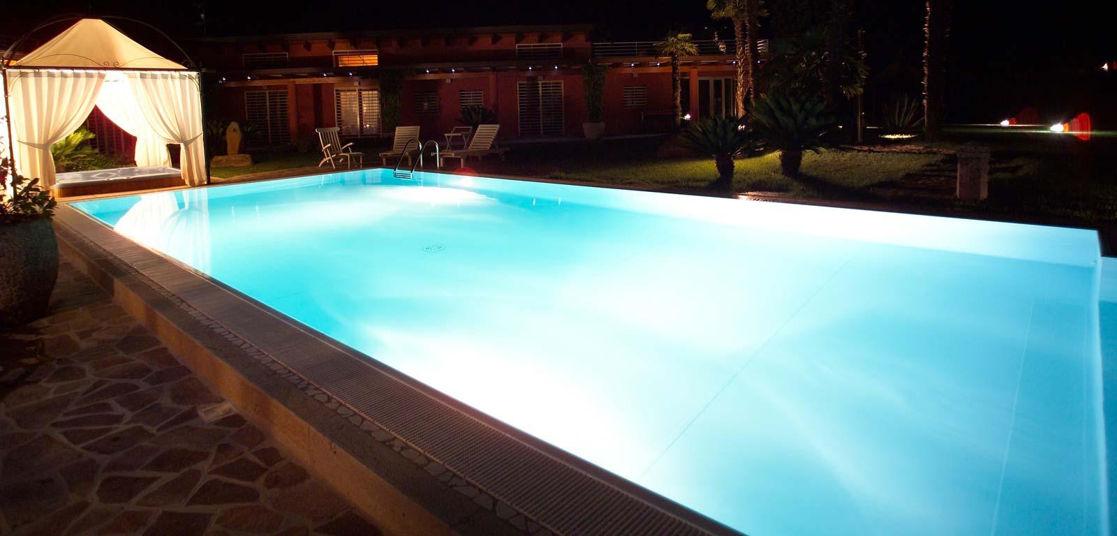 Illuminazione lattanzi e silenzi - Illuminazione piscina ...